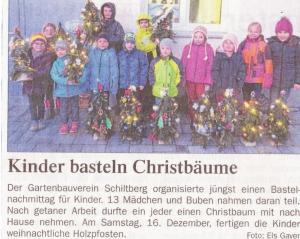Kinder- Weihnachtsbasteln (1)