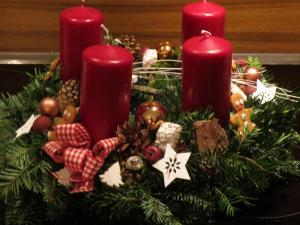 Weihnachtliche Dekoration basteln