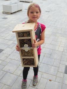 Ferienprogramm Insektenhotel